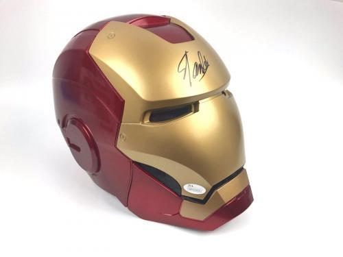 STAN LEE Authentic Autograph Iron Man Helmet MARVEL LEGENDS Signed JSA RARE