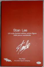 Stan Lee Autographed 1/6 Scale Limited Edition Action Figure JSA Authentic