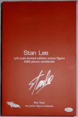 Stan Lee Autographed 1/6 Scale Limited Edition Action Figure JSA Authentic