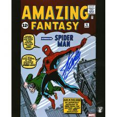 Stan Lee Autographed 8X10 Photo (Amazing Fantasy)