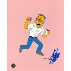 Stan Lee Autographed 8X10 Photo (Simpsons)