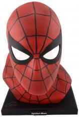 Stan Lee Autographed Alex Ross 1:1 Spider Man Bust with Silver Ink - BAS COA