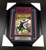 Stan Lee Autographed Bas Framed 8x10 Photo Amazing Fantasy #15 Spiderman