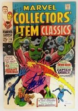 Stan Lee Autographed Collector's Item Classics Comic Book- JSA W704464