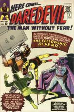 Stan Lee Autographed Comic Book 1964 Daredevil #6 with Black Ink - Stan Lee Hologram