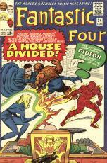 Stan Lee Autographed Comic Book 1965 Fantastic Four #34 with Black Ink - Stan Lee Hologram