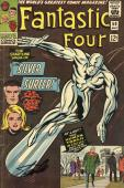 Stan Lee Autographed Comic Book 1966 Fantastic Four #50 with Black Ink - BAS COA