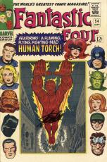 Stan Lee Autographed Comic Book 1966 Fantastic Four #54 with Black Ink - Stan Lee Hologram