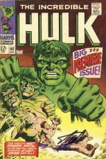 Stan Lee Autographed Comic Book 1968 Incredible Hulk #102 with Black Ink - BAS COA