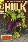Stan Lee Autographed Comic Book 1968 Incredible Hulk #105 with Black Ink - BAS COA