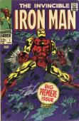 Stan Lee Autographed Comic Book 1968 Invincible Iron Man #1 with Silver Ink - BAS COA