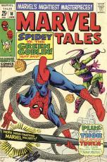 Stan Lee Autographed Comic Book 1968 Marvel Tales #18 with Black Ink - Stan Lee Hologram