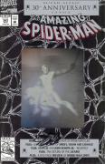 Stan Lee Autographed Comic Book 1992 Amazing Spider Man #365 with Black Ink - BAS COA