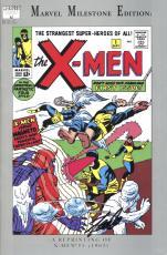 Stan Lee Autographed Comic Book 1994 Milestone Edition Uncanny X-Men #1 with Black Ink - BAS COA
