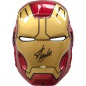 Stan Lee Autographed Iron Man Mask