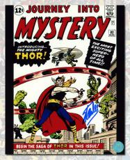 Stan Lee Autographed Journey Into Mystery #83 THOR Comic Cover 8x10 Photo