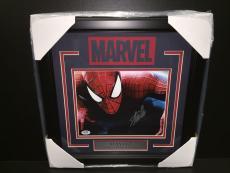 Stan Lee Autographed Psa Framed 8x10 Photo Marvel Comics Spiderman #5 Signed