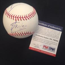 "Stan Lee Autographed Signed Baseball PSA **RARE** Inscribed ""Spider-Man"" Marvel"