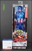 Stan Lee Autographed Signed Captain America Figurine Avengers Psa/dna Coa