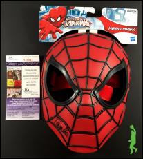 Stan Lee Autographed Signed Spider-man Ultimate Marvel Mask Jsa Coa