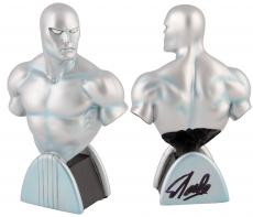 Stan Lee Autographed Silver Surfer Mini Bust with Black Ink - BAS COA
