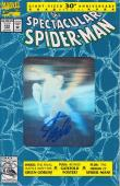 Stan Lee Autographed Spider Man 30th Anniversary Blue Comic Book JSA WP500740
