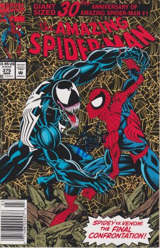 Stan Lee Autographed Spider Man v Venom 30th Anniversary Comic Book JSA WP500756