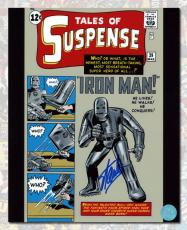 Stan Lee Autographed Tales Of Suspense #39 Iron Man Comic Cover 11x14 Photo