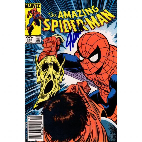 Stan Lee Autographed The amazing Spiderman Comic Book - JSA