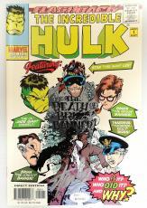 Stan Lee Autographed The Incredible Hulk Comic Book- JSA W 704465