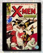 Stan Lee Autographed The X-Men #1 Comic Cover 11x14 Photo