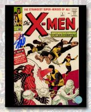 Stan Lee Autographed The X-Men #1 Comic Cover 8x10 Photo