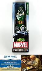 Stan Lee Autographed/Signed Dr. Doom Marvel Series Action Figure Box