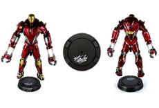 Stan Lee Autographed/Signed Hot Toys Marvel Iron Man 3 Mark XXXV Red Snapper ...