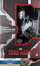 Stan Lee Autographed/Signed Hot Toys Marvel Iron Man 3 War Machine 1:4 Scale Collectible Bust