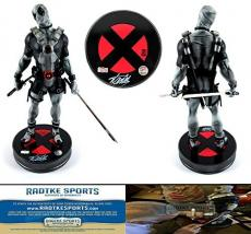 Stan Lee Autographed/Signed Limited Edition Sideshow Collectibles Marvel Deadpool X-Force Premium Format Figure Deluxe Statue