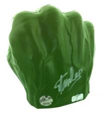 Stan Lee Autographed/Signed Marvel Avengers Incredible Hulk Costume Prop Foam Fist