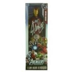 Stan Lee Autographed/Signed Marvel Avengers Ironman Classic Series Action Figure Box