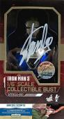 Stan Lee Autographed/Signed Marvel Iron Man 3 Blue Steel Mark XXX 1:6 Scale Collectible Bust