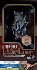 Stan Lee Autographed/Signed Marvel Iron Man 3 Iron Patriot 1:6 Scale Collectible Bust