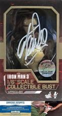Stan Lee Autographed/Signed Marvel Iron Man 3 Mark XLII 1:6 Scale Collectible Bust