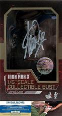 Stan Lee Autographed/Signed Marvel Iron Man 3 War Machine Mark II 1:6 Scale C...