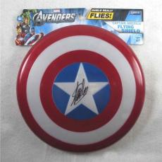Stan Lee Captain America Autographed Signed Flying Shield Authentic JSA COA