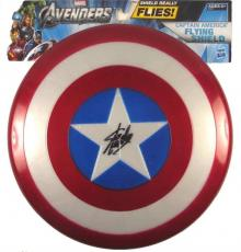 Stan Lee Captain America Autographed Signed Flying Shield Authentic PSA/DNA COA