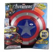 Stan Lee Captain America Autographed Signed Triple Blast Shield PSA/DNA COA