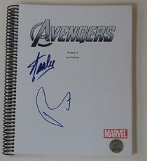 Stan Lee Robert Downey Jr. Signed The Avengers 131 Page Script Marvel Excelsior