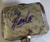 Stan Lee & Chris Hemsworth Signed Thor Hammer Avengers Excelsior w/JSA Y70878