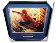 Stan Lee Hand Signed Autograph 16x20 Photo Amazing Spiderman Hand Framed PSA/DNA