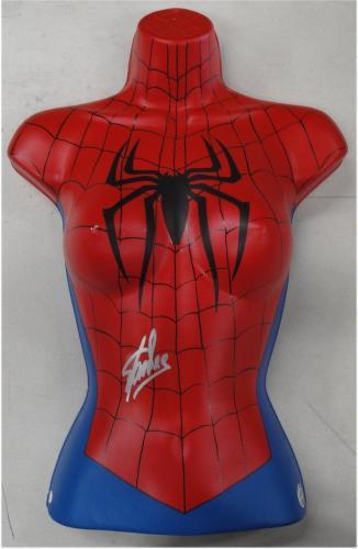 Stan Lee Hand Signed Autographed Custom Made Spider-Man Spider-Woman JSA V40057
