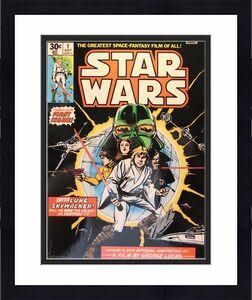 "STAN LEE & HOWARD CHAYKIN Signed ""Star Wars"" Comic Book 16X20 Photo PSA/DNA"